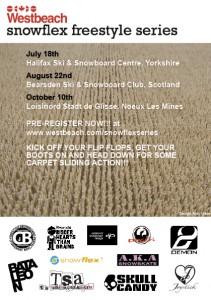 Westbeach Snowflex Series Poster