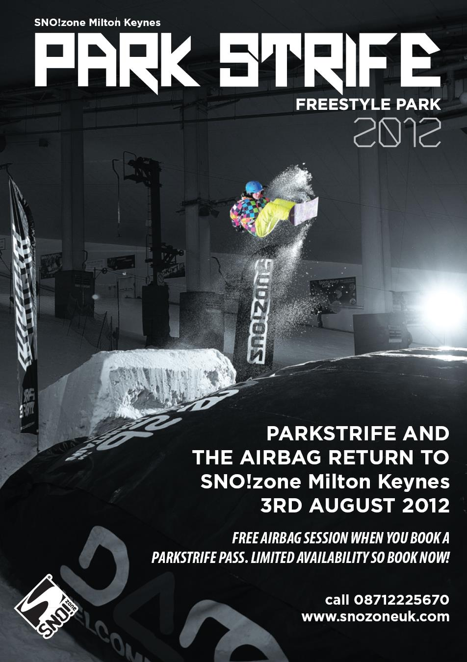 Upcoming Event: Park Strife & Airbag