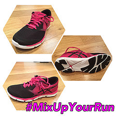 Shiny test kit #MixUpYourRun