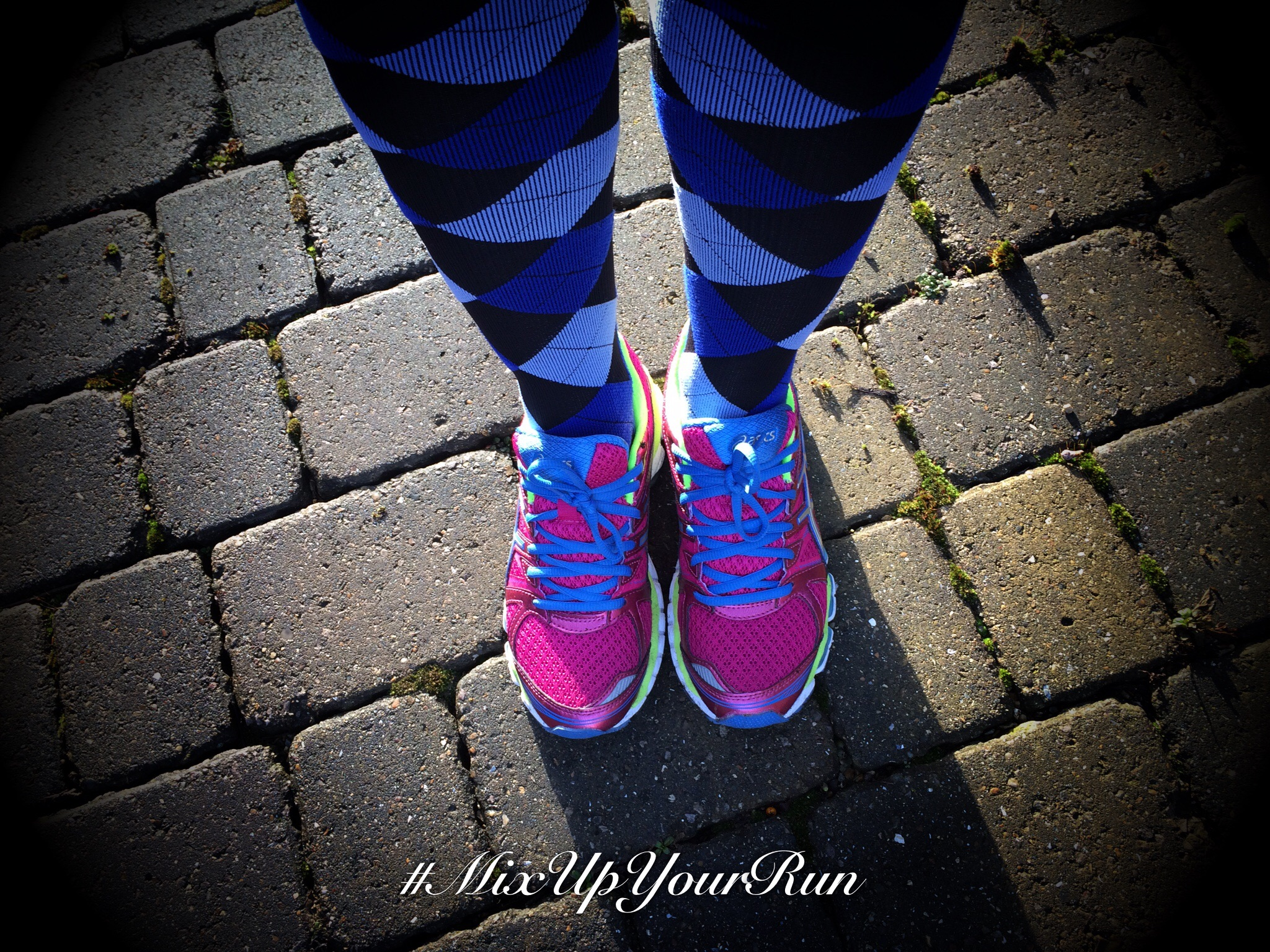 Run long #MixUpYourRun