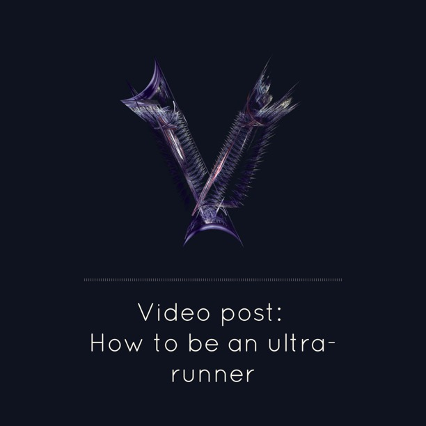 How to be an ultra-runner