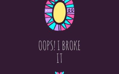 I broke my blog!