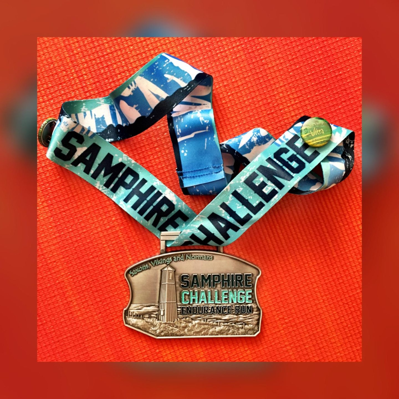 image of Samphire Challenge medal