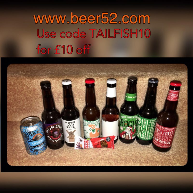 Beer52 - discount code TAILFISH10