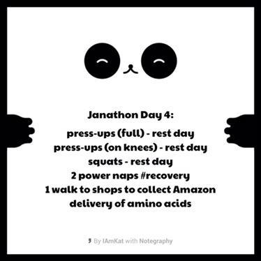 Janathon Day 4