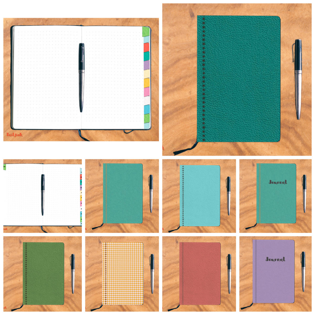 New in the store: Dot Grid style digital journals