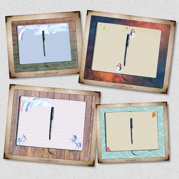 image of the 4 jotter collection