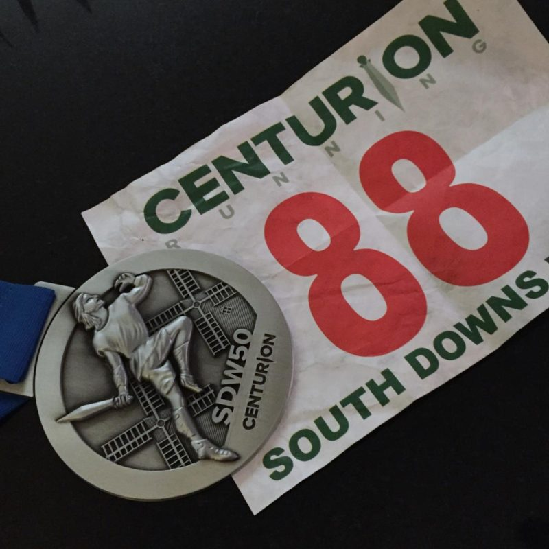 image - Bib 88 and SDW50 medal