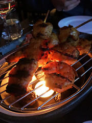 image - Chicken Prawn Satay