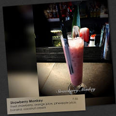 image strawberry monkey mocktail