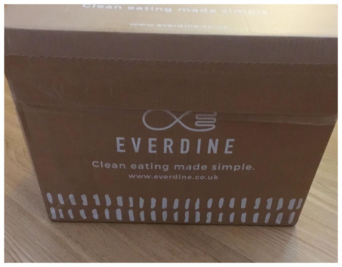 Everdine unboxing – main box front