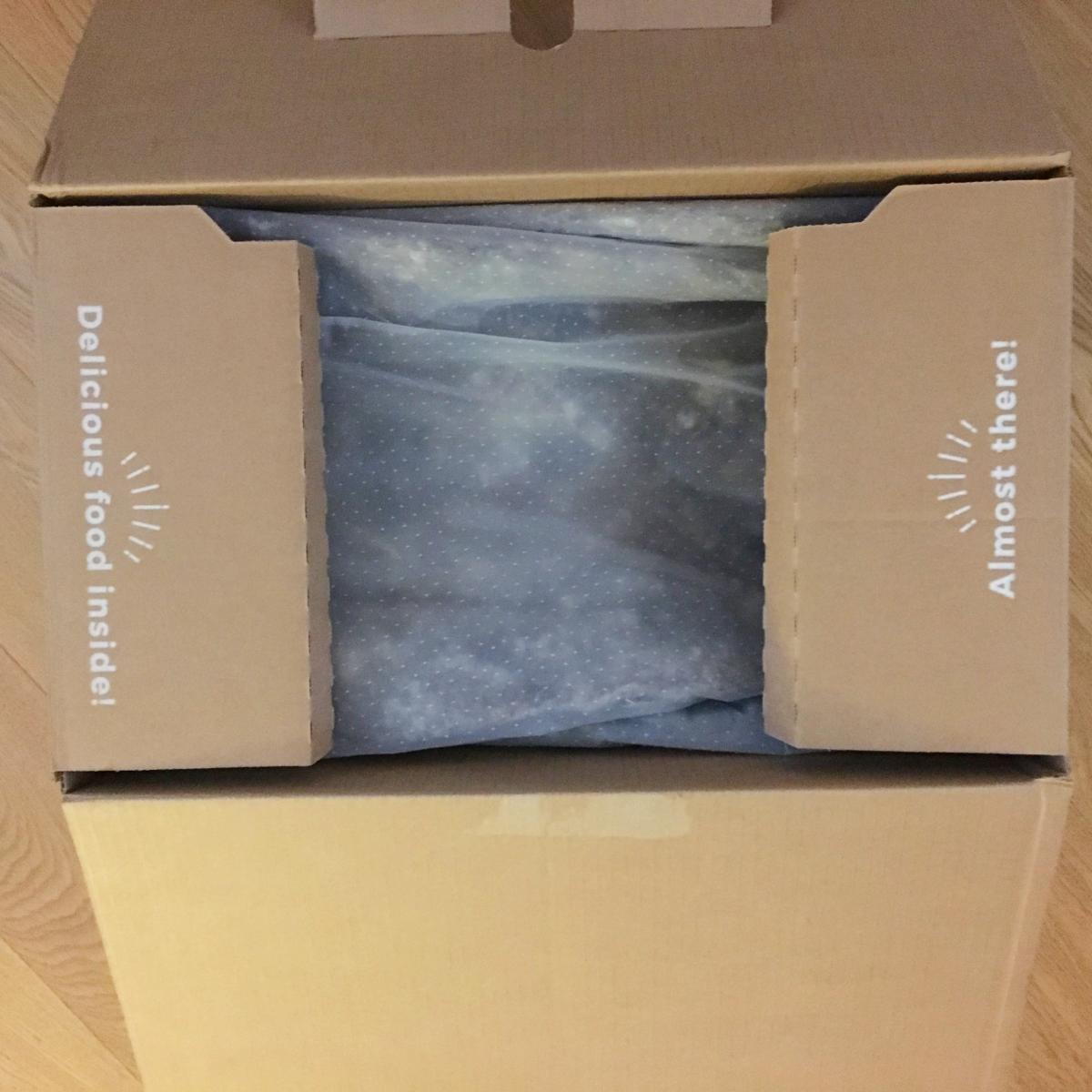 Everdine unboxing – wool insulation
