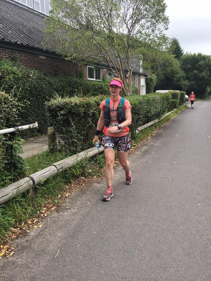 image - Kat arriving at Queen Elizabeth Country Park in Race to the King #rttk2017