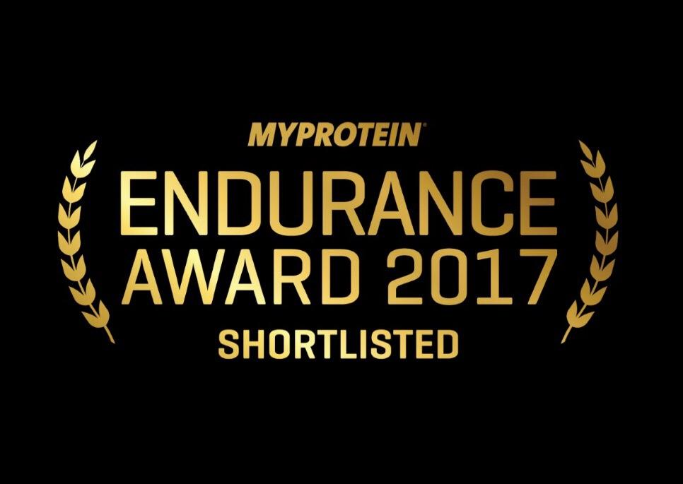 MyProtein Endurance Award 2017 - Shortlisted