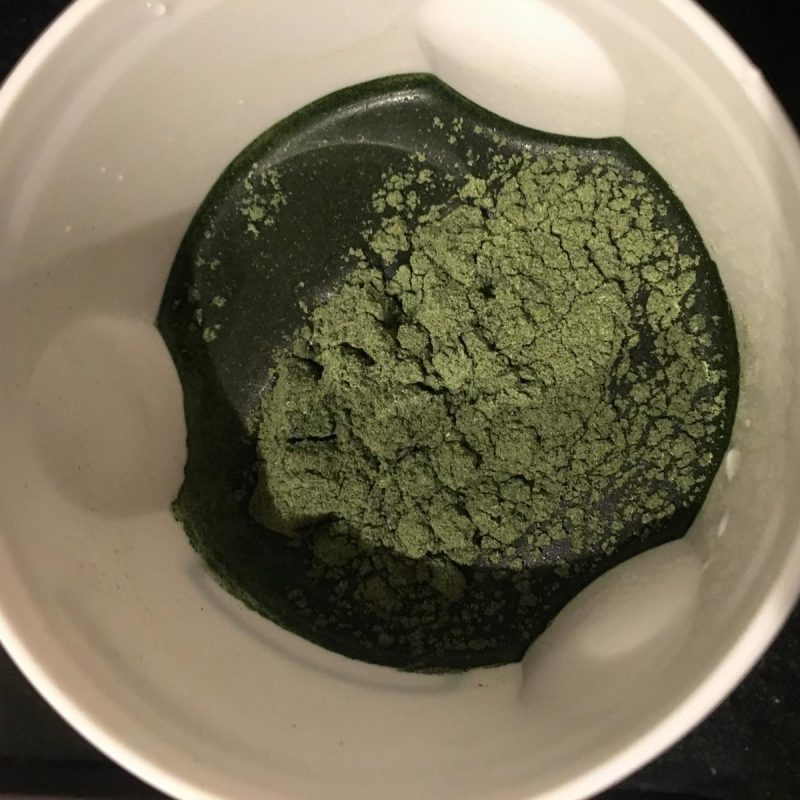image of supergreens powder ready to mix