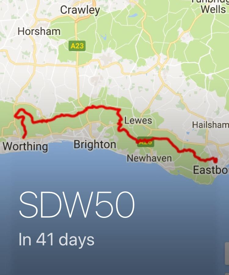 SDW50 in 41 Days