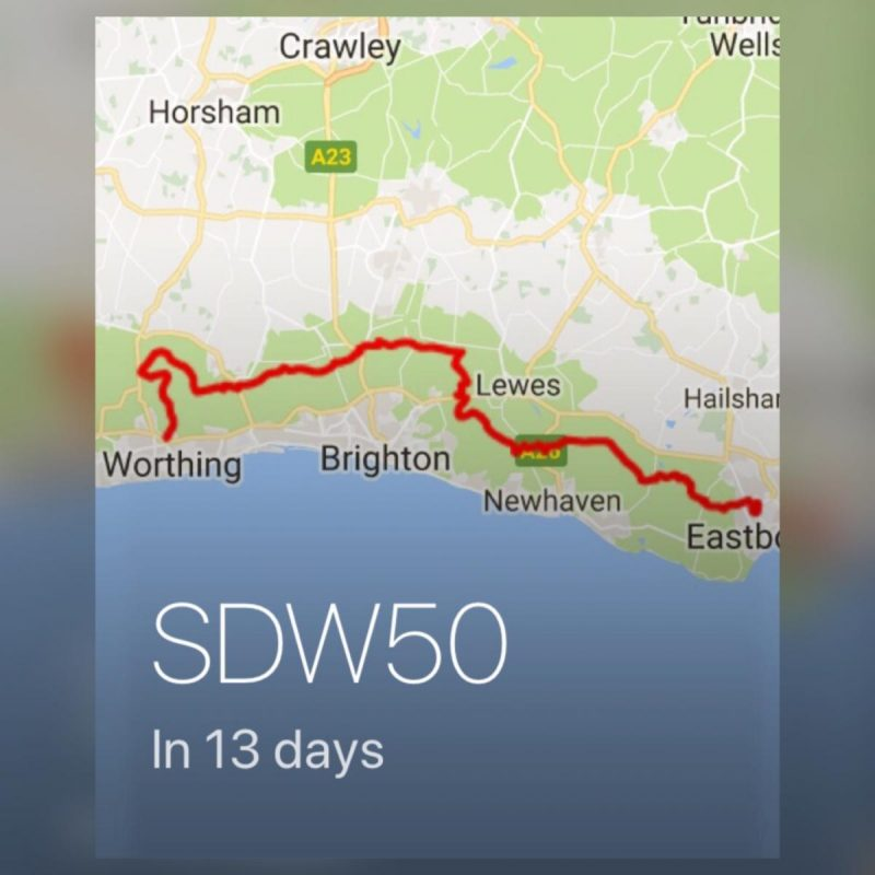 Image shows 13 days to SDW50