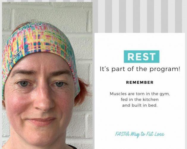 It's OK to rest!